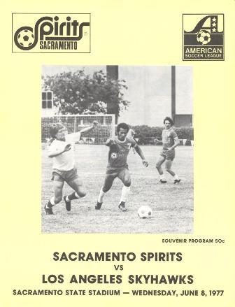 Los Angeles Skyhawks @ Sacramento Spirits. June 8, 1977