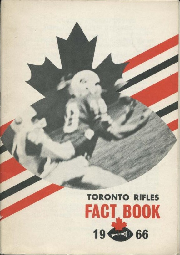 1966 Toronto Rifles Media Guide