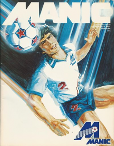 Montreal Manic vs. Edmonton Drillers. April 18, 1982