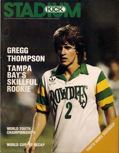 San Diego Sockers vs. Tampa Bay Rowdies. August 12, 1983