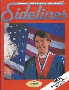 St. Louis Steamers vs. Wichita Wings. December 6, 1985