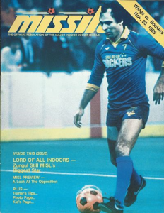 Wichita Wings vs. San Diego Sockers. November 23, 1985