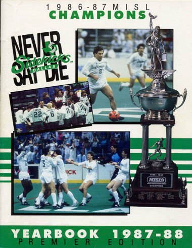 1987-88 Dallas Sidekicks Yearbook