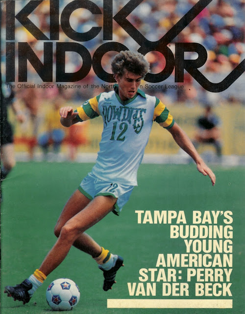 Perry Van Der Beck during the Tampa Bay Rowdies heyday