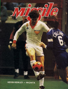 1983-84 MISSILE Magazine – Kevin Kewley, Wichita Wings