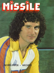 1980-81 MISSILE Magazine – Norman Piper, Wichita Wings