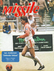 1983-84 MISSILE Magazine – Ian Anderson, Wichita Wings