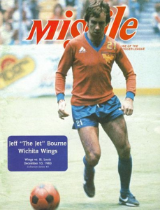 1983-84 MISSILE Magazine – Jeff Bourne, Wichita Wings