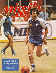 1983-84 MISSILE Magazine – Manuel Filardo, Wichita Wings