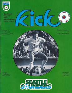 Seattle Sounders vs. Portland Timbers. August 2, 1975