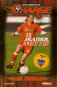 Heather Mitts Philadelphia Charge