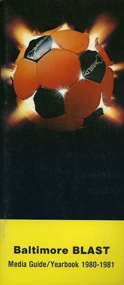 1980-81 Baltimore Blast Media Guide