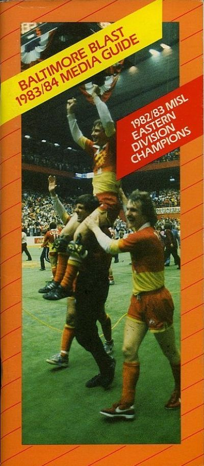 1983-84 Baltimore Blast Media Guide