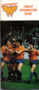 1986-87 Wichita Wings Media Guide