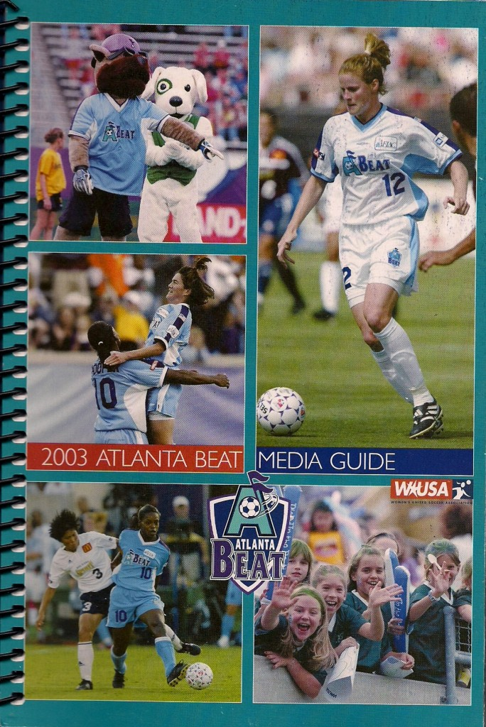 2003 Atlanta Beat Media Guide