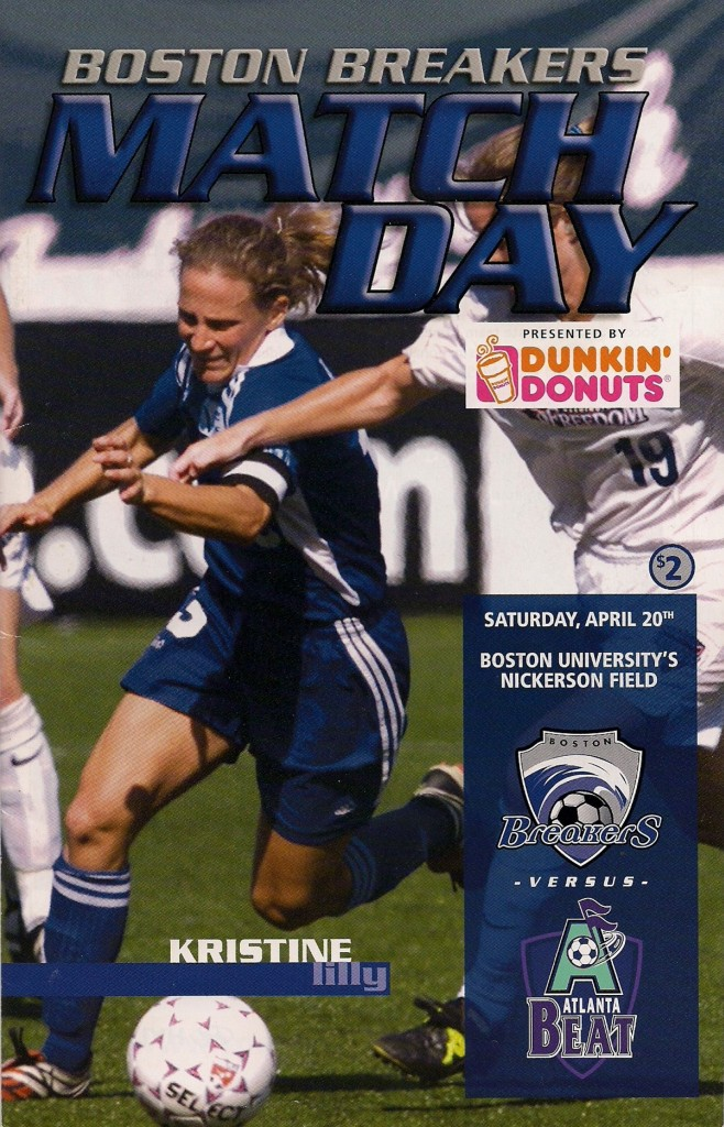 Kristine Lilly Boston Breakers