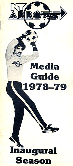 1978-79 New York Arrows Media Guide