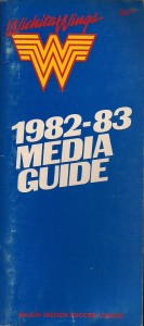 1982-83 Wichita Wings Media Guide