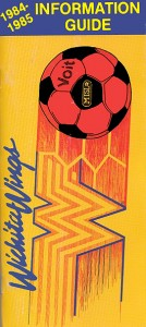1984-85 Wichita Wings Media Guide