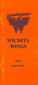1990-91 Wichita Wings Media Guide