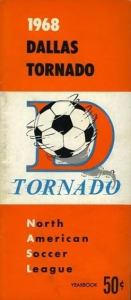 1968 Dallas Tornado Media Guide