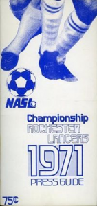 1971 Rochester Lancers Media Guide