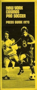 1973 New York Cosmos Media Guide