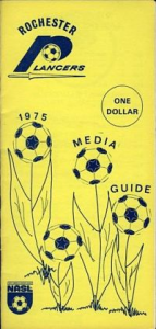 1975 Rochester Lancers Media Guide