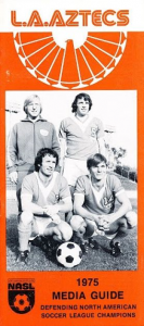 1975 Los Angeles Aztecs Media Guide