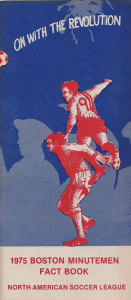1975 Boston Minutemen Media Guide