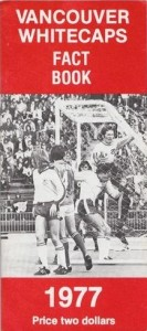 1977 Vancouver Whitecaps Media Guide