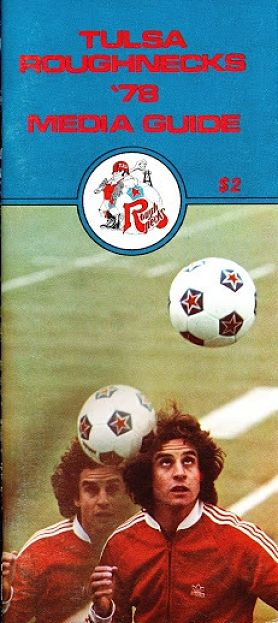 1978 Tulsa Roughnecks Media Guide