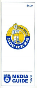 1979 San Diego Sockers Media Guide