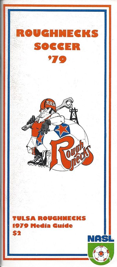 1979 Tulsa Roughnecks Media Guide