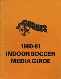 1980-81 San Jose Earthquakes Media Guide