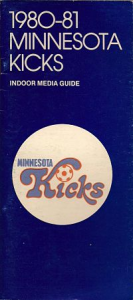 1980-81 Minnesota Kicks Media Guide