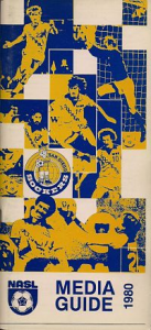 1980 San Diego Sockers Media Guide