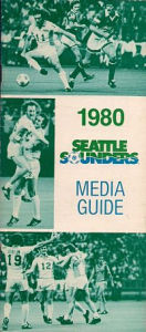 1980 Seattle Sounders Media Guide