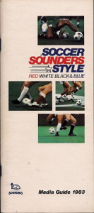 1983 Seattle Sounders Media Guide