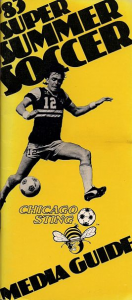 1983 Chicago Sting Media Guide