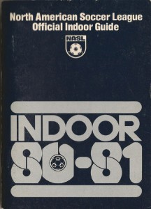 1980-81 NASL Indoor Season Media Guide