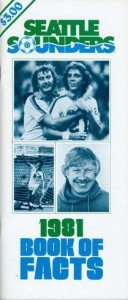 1981 Seattle Sounders Media Guide