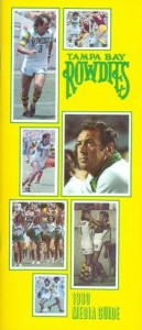 1980 Tampa Bay Rowdies Media Guide