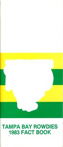 1983 Tampa Bay Rowdies Media Guide
