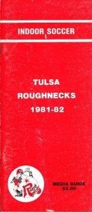 Tulsa Roughnecks Media Guide