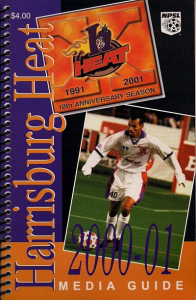 2000-01 Harrisburg Heat Media Guide