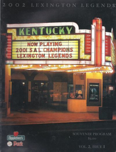 Lexington Legends Program