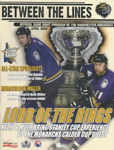 Manchester Monarchs Program
