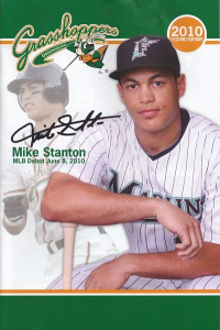 Mike Stanton Greensboro Grasshoppers