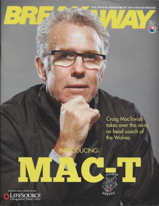 Craig MacTavish Chicago Wolves